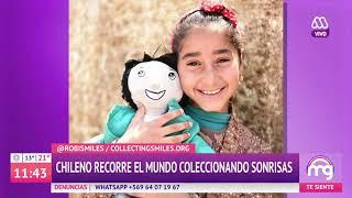 Roberto Corona y Robi Smiles en entrevista en Mucho Gusto