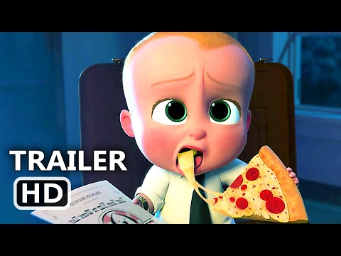 THE BOSS BABY Official Movie Clip Trailer...