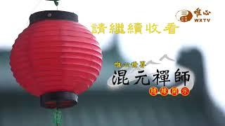 【混元禪師隨緣開示250】| WXTV唯心電視台