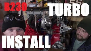 Volvo 240 Turbo Install