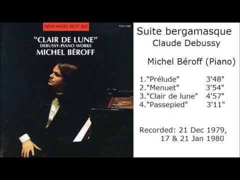Suite bergamasque  -  Claude Debussy