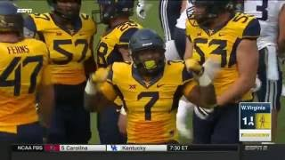 BYU at West Virginia | 2016 Big 12 Football Highlights