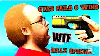 GTA 5 FAILS & WINS  (BEST GTA 5 MOMENTS)KILLZ SPECIAL