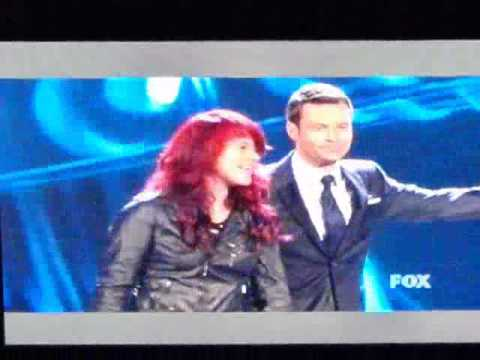 Allison Iraheta's Elimination - VIDEO (ADAM AND ALLISON ARE SO CUTE IN THIS!!)
