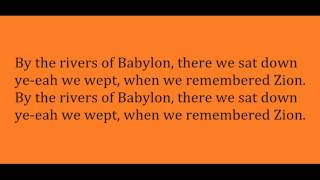 Boney M - Rivers of Babylon (Lyric Video)