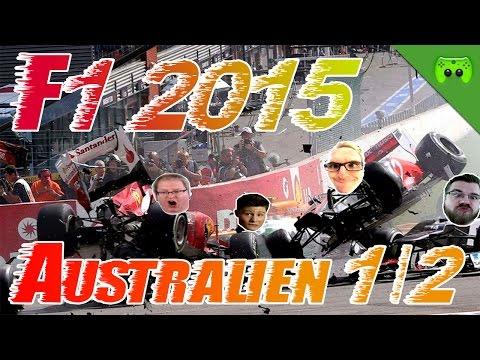 F1 2015 # 01 - GP von Australien 1/2 «» Let's Play F1 2015 PS4   60 FPS