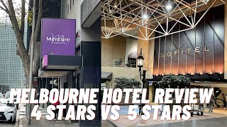 Melbourne Hotel Review 4 Stars vs 5 Stars Travelling English Subtitle