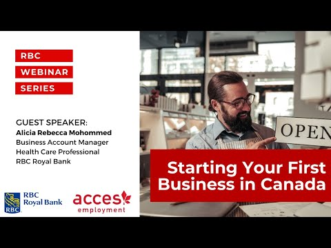 Starting Your First Business in Canada and How RBC Can Help