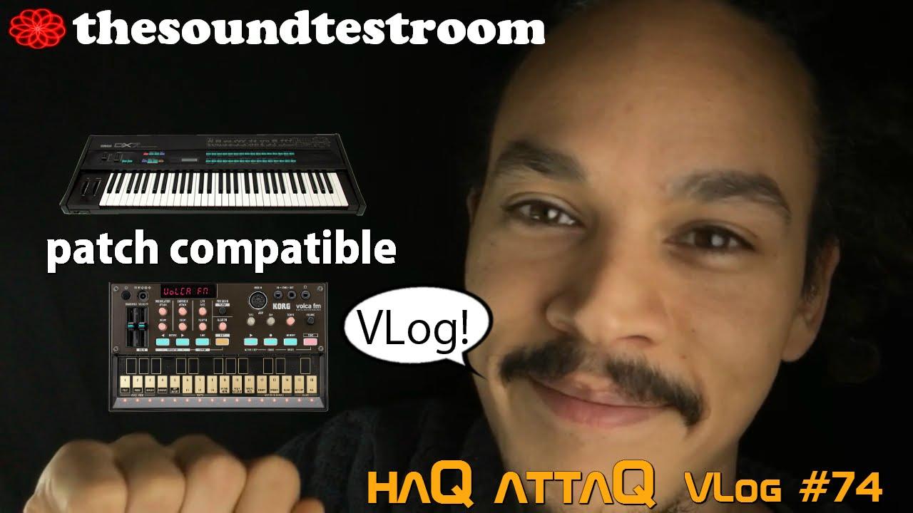 KORG Volca FM │ DX7 patch compatible │ Resource links - haQ VLog 74