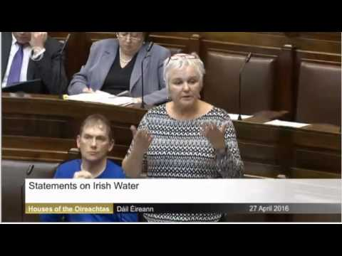 Brid Smith TD on water charges in the Dail