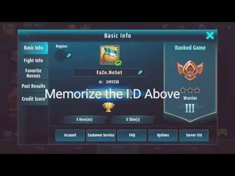 Mobile Legends - Como colocar letras coloridas no chat ... | Doovi