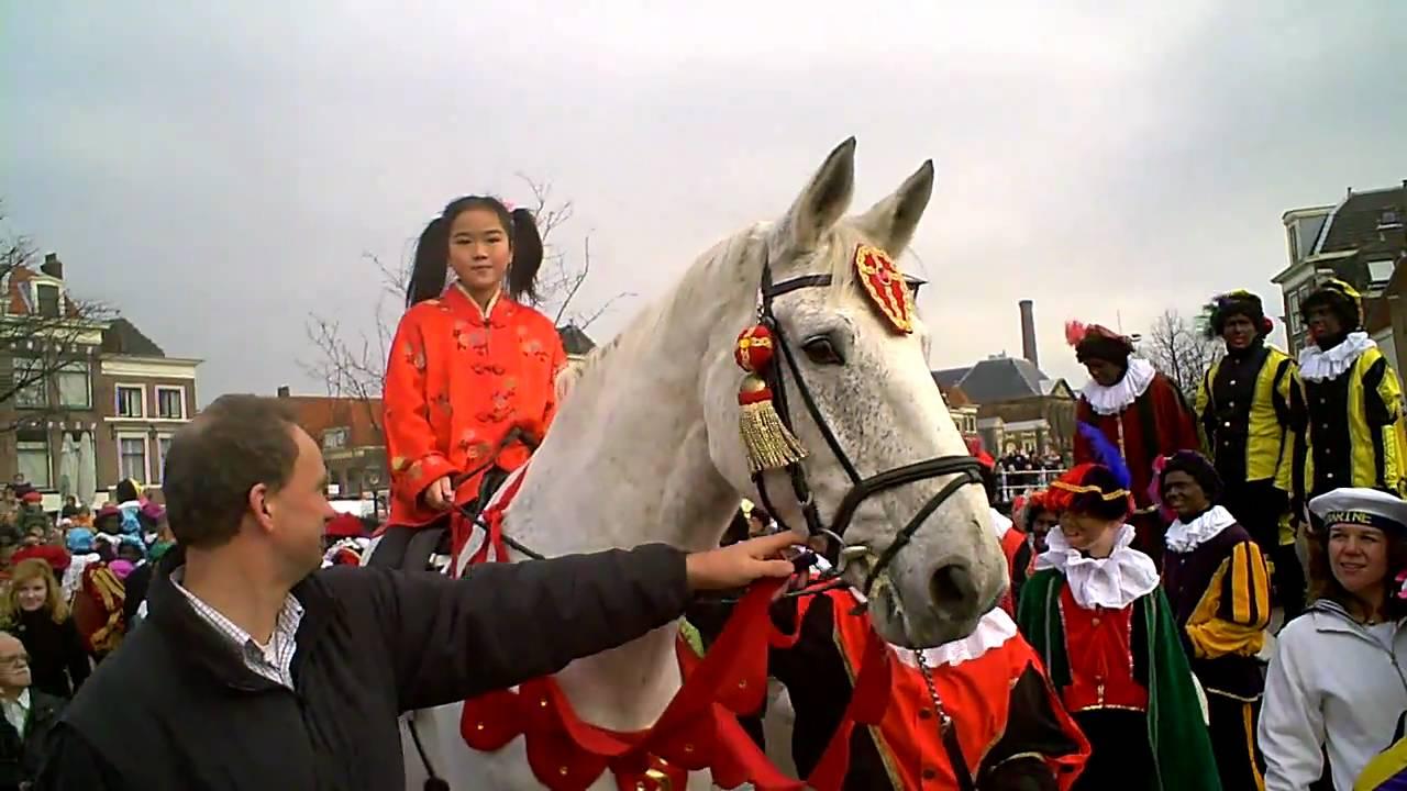 Intocht Sinterklaas Leiden 2010 Winky En Americo