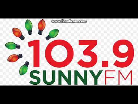 25 days of christmas radio 2017 day 9 wwfw 1039 sunny fm station id december 9 2017 403pm