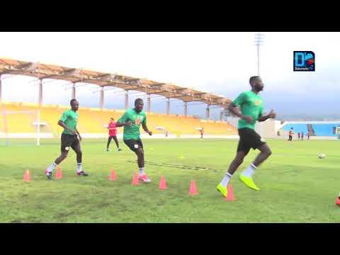 Guinée Eq./Sénégal : Opposition et mise en place pour le dernier entraînement à Malabo