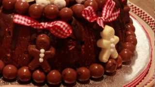 The Chocolate Rocky Road Christmas Tree Cake By Cinnamon Cottage