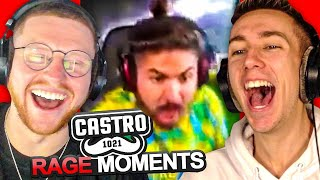 SIDEMEN REACT TO CASTRO FUNNY RAGE MOMENTS