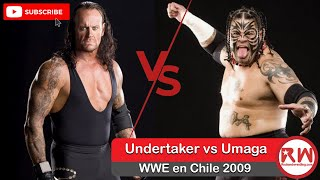 #Wrestling - Undertaker vs Umaga WWE en Chile