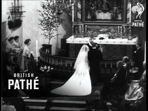 Royal Wedding Youtube.Norway S Royal Wedding 1953 Youtube