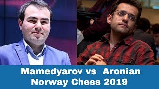 A queen is stronger than two rooks | Shakhriyar Mamedyarov vs Levon Aronian: Norway Chess 2019