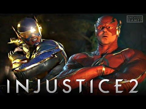 Injustice 2: FULL Flash Gameplay Walkthrough!