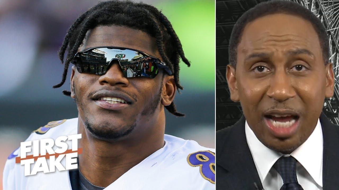 Antonio Brown to the Ravens? NFL MVP Lamar Jackson sounds like ...