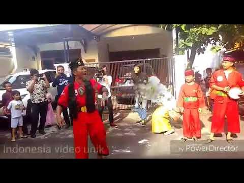 Part 1 Parang Pintu Pesta Kawinan Adat Betawi Dalam Menyambut Tamu
