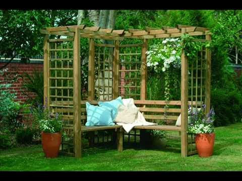 Garden Trellises | Garden Trellis Design Plans - Youtube