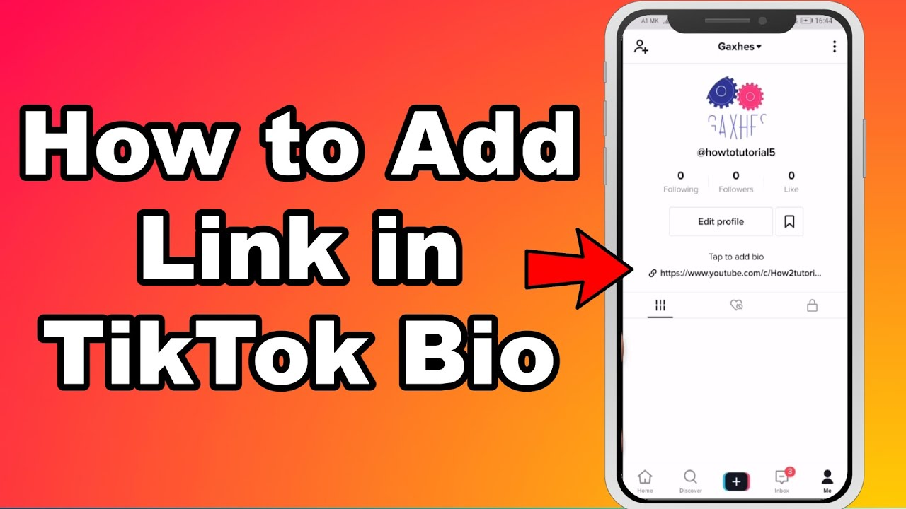 How To Add Link In Tiktok Bio Clickable Website Link On Tiktok Youtube