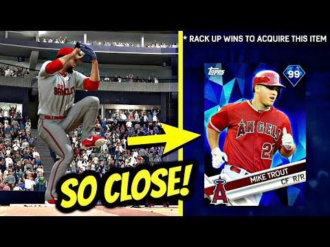 SO CLOSE TO GETTING MIKE TROUT!! 2 WINS AWAY! MLB THE SHOW 17 BATTLE ROYALE