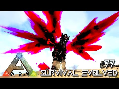 ARK: SURVIVAL EVOLVED - NEW PRIMORDIAL DRAGON NEPHALEM !!! E77 (MODDED EXTINCTION CORE)