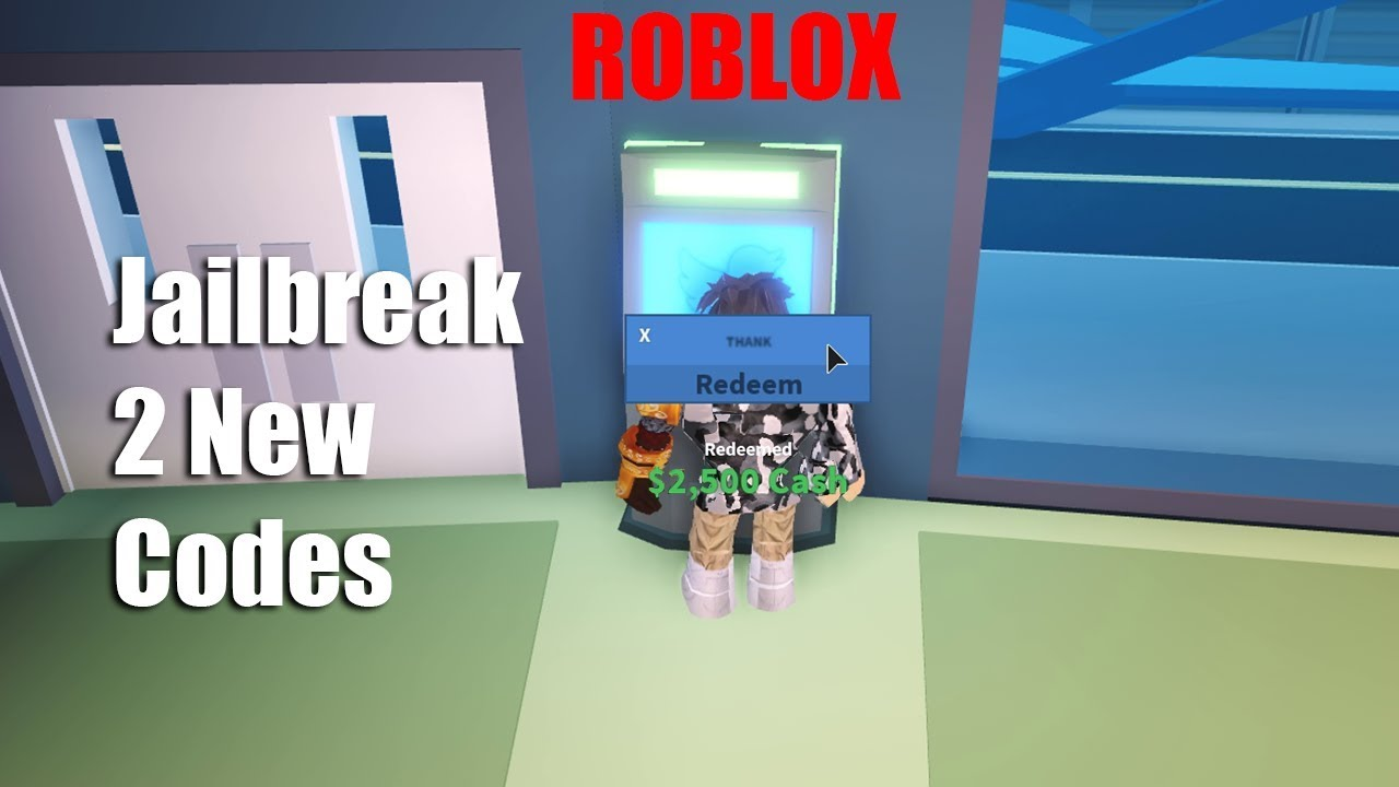 Update 2 New Codes Of Jailbreak Gives You 10000 Money Roblox