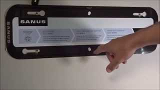 How to screw a TV wall mount to wooden studs