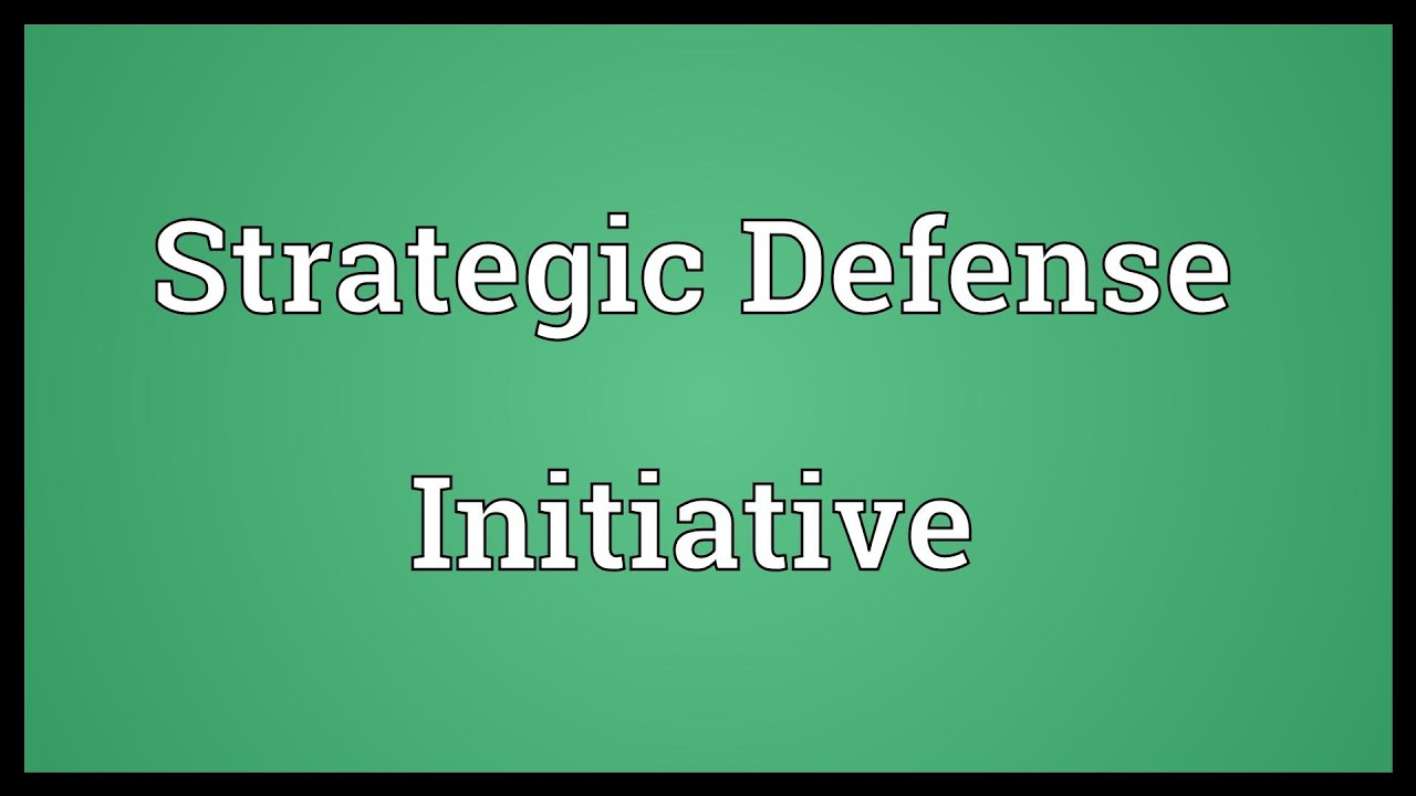 radical idea in strategic defense initiative proposed by ronald reagan The foreign policy of the ronald reagan administration was the foreign policy one of reagan's proposals was the strategic defense initiative radical change.