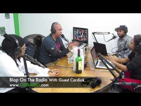 Cardiak Discusses His Come Up On The Blap On The Radio Show.