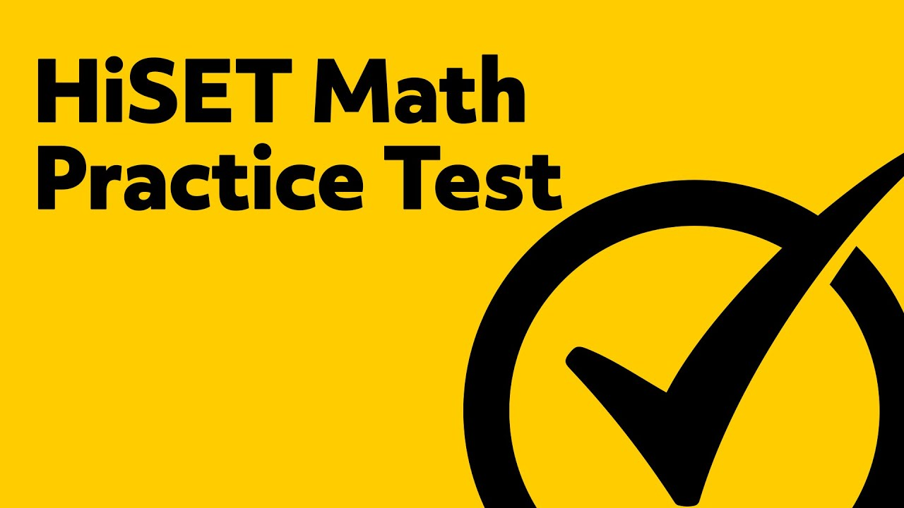 photograph regarding Printable Hesi Practice Test referred to as HiSET Take a look at - Cost-free HiSET Math Coach Attempt