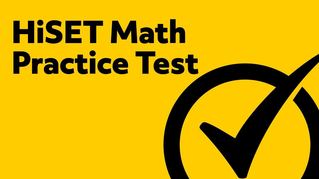 photo regarding Hspt Practice Tests Printable identify HiSET Check - Totally free HiSET Math Educate Examine