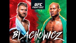 UFC Sao Paulo Blachowicz vs Jacare Betting Prediction Podcast