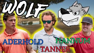 WOLF!! Disc Golf Game w/ Tristan Tanner and Austin Hannum!!!