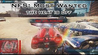 Need for Speed: Most Wanted (2012) - The Heat Is Off (Koenigsegg Agera R) - Xbox 360 (NFS001)