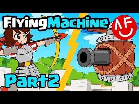CLASH ROYALE ANIMATION - FLYING-MACHINE (Part 2)