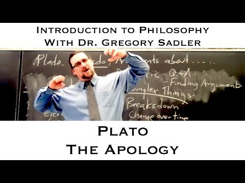 Plato's dialogue, the Apology - Introduction to Philosophy