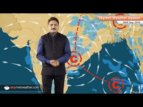 Weather Forecast for Sep 28: Monsoon showers continue in Central India