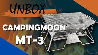 [Unbox] Bếp Nướng Dã Ngoại Campingmoon MT-3 - Chuyentactical.com