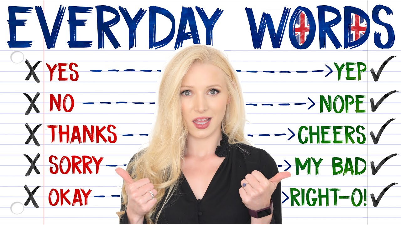 AVOID Repeating These Words in Daily English Conversation - Use These Alternative Words
