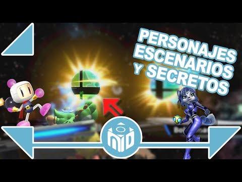 ¡TODO SOBRE Super Smash Bros Ultimate Nintendo Switch! | N Deluxe