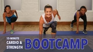 15-Minute Bootcamp Workout | Class FitSugar