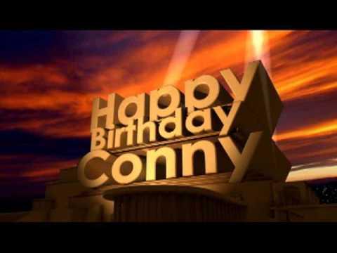 Happy Birthday Conny
