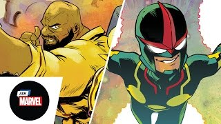 Ask Marvel: Ramón Pérez (Nova) & Sanford Greene (Power Man & Iron Fist)