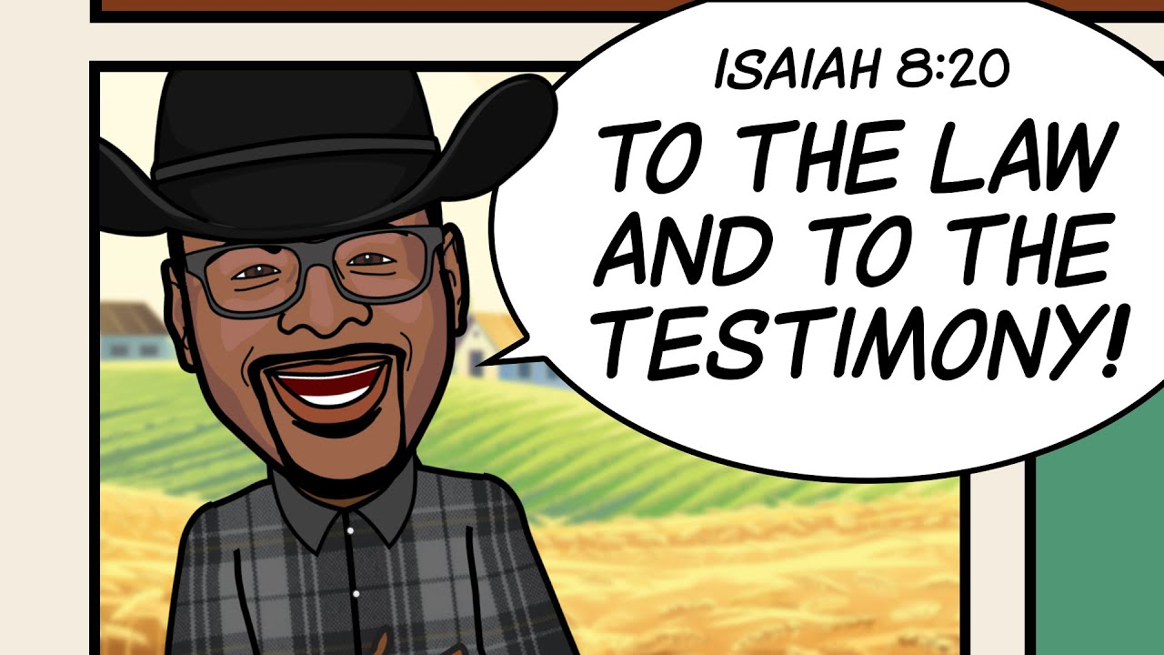 """""""TO THE LAW AND TO THE TESTIMONY!"""" Scripture Song - Isaiah 8:20"""