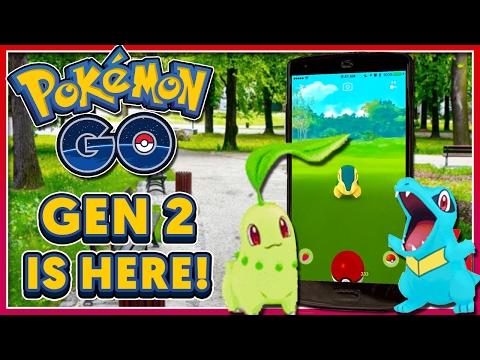 POKEMON GO - BIG NEWS UPDATE: GEN 2 ANNOUNCED + NEW EVOLUTIONS & ITEMS!